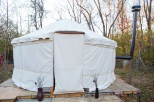 DIY Yurt, Portable Heated Building For Under $3,000 (No Hammers or Nails Needed)