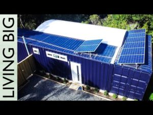 Spectacular 40ft Small Shipping Container Home