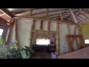 Amazing Bamboo And Cob Home Construction Costa Rica