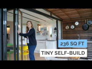 Family Of 4 In 236 Sq Ft Modern Tiny House – Architects Selfbuild Tiny Garden House