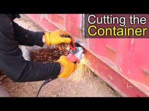 Cutting The Container – Container Shop Project 1