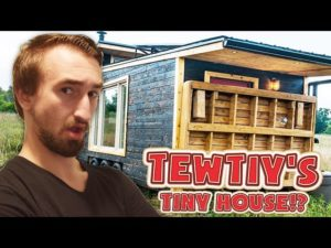 VISITING TEWTIY'S TINY HOUSE!?