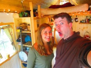 23 Year Old Woman Builds A Tiny Tumbleweed House/Cabin In California